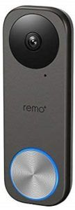 Remo+ RemoBell S Wi-Fi Video Doorbell Camera