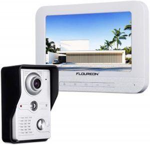 FLOUREON 7 Inch Video Doorbell Phone System