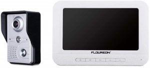 FLOUREON 7 Inch Video Doorbell Phone System review
