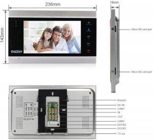 TMEZON 7 Inch Video Door Phone review