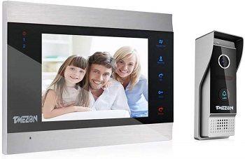 TMEZON 7 Inch Video Door Phone