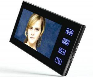 Touch Key Video Door Phone Intercom System