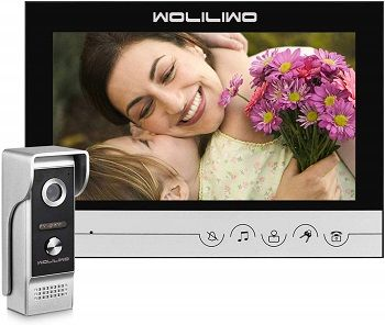 Woliliwo Video Doorbell With 9 Inches Monitor